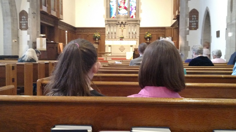 First Secret of a Pew Whisperer: Being There