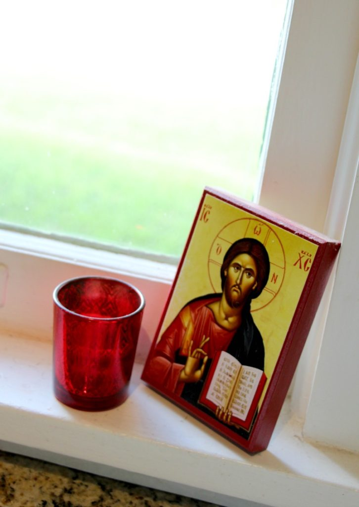 Jesus in my Kitchen: Using Icons in the Home