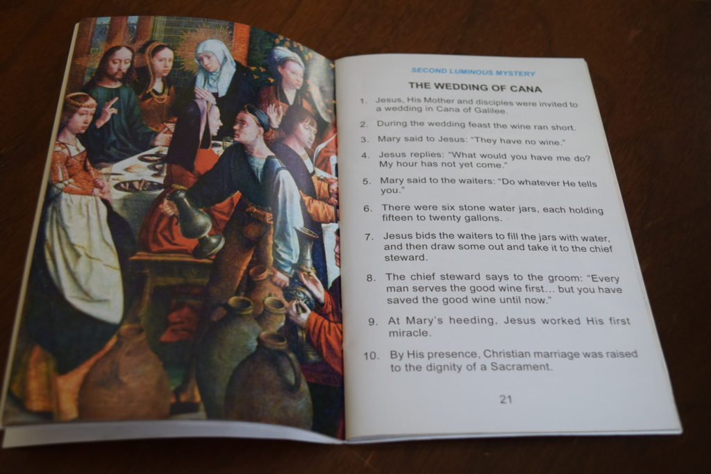 rosary book