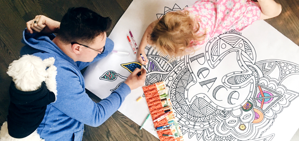 Coloring Our Way to Conversation on Faith