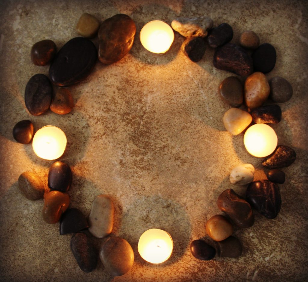 make your own advent wreath