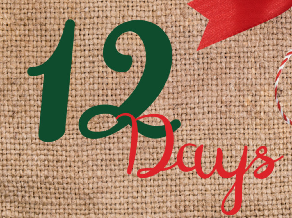 Days To Christmas.Almost The 12 Days Of Christmas