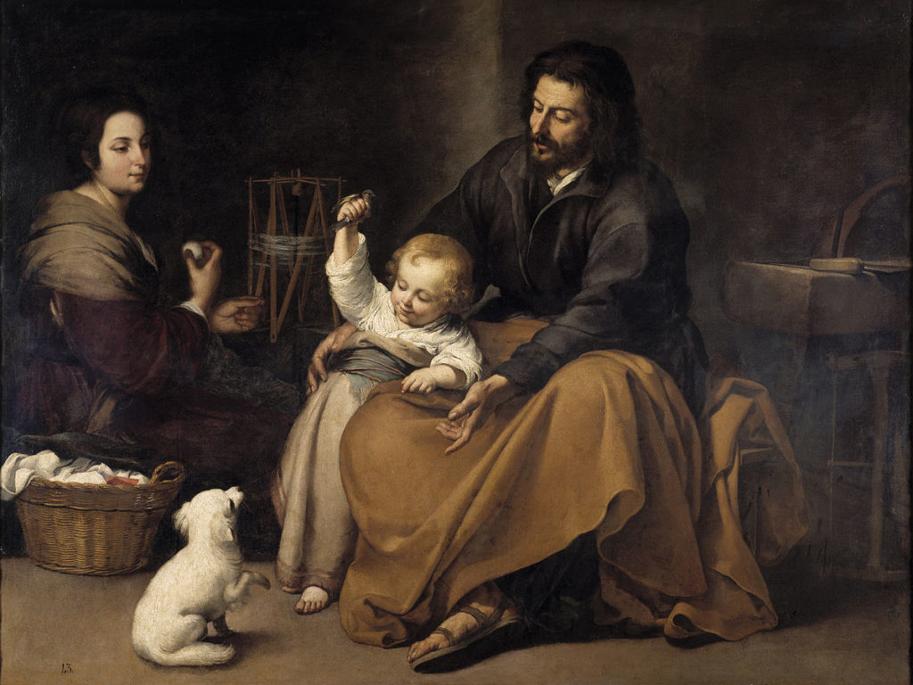 St. Joseph – Steadfast and Faithful When Life is Upside Down