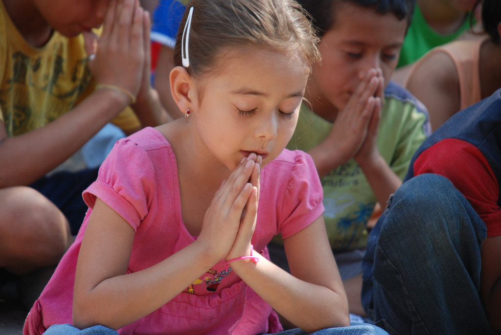 Learning (with Children) How to Pray