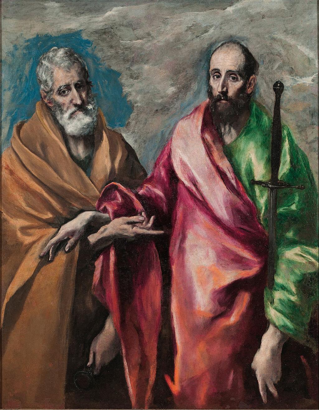 El Greco, Święty Piotr i Paweł, 1595-1600