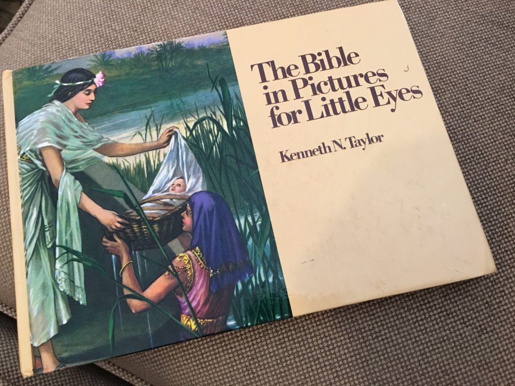My parents bought me a scary children's Bible. Then I let my own child see one.