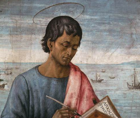 St. John looks for Jesus – and so do we.
