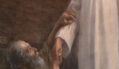On the Feast of the Confession of Saint Peter, I notice his faith and his doubt.