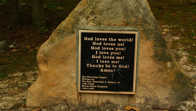 Shouting and Sharing God's Love at Summer Camp