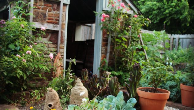 Creating Sacred Space – the making of a garden chapel