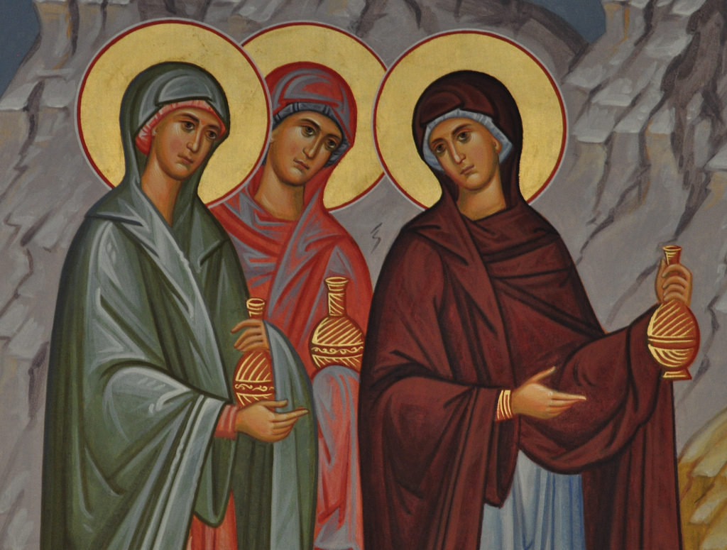 The Lesser Feast of the Myrrh Bearers: Joanna, Mary, and Salome