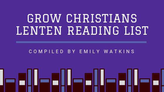 Lenten Reading List