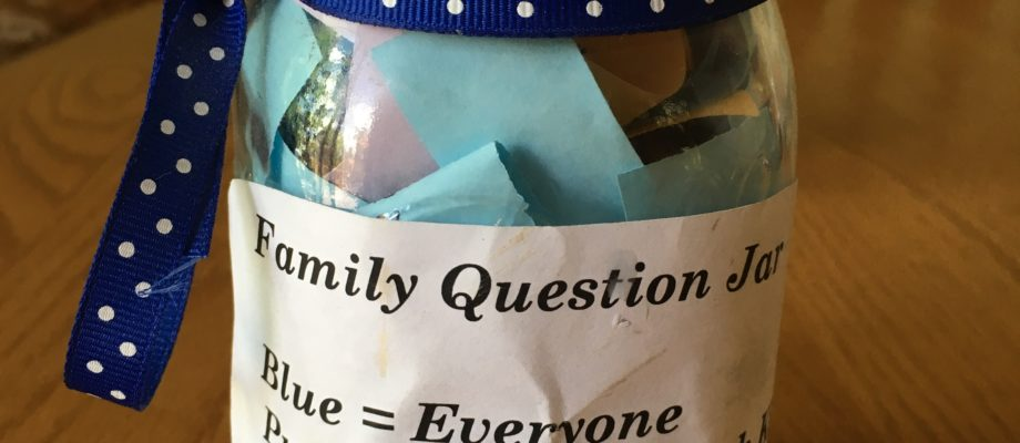 The Miraculous Dinnertime Question Jar